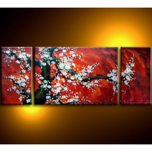 Современная картина холст Cherry Blossom Цветочная картина маслом на холсте (FL3-032)