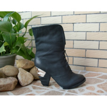 2016 New Style of Women Ankle Bootie (hcy02-794)