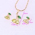 61858-Xuping Fashion Woman Jewlery Set with 18K Gold Plated