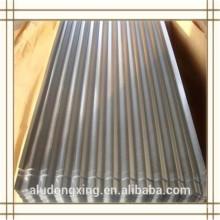 Hoja de aluminio ondulado de la serie 1000