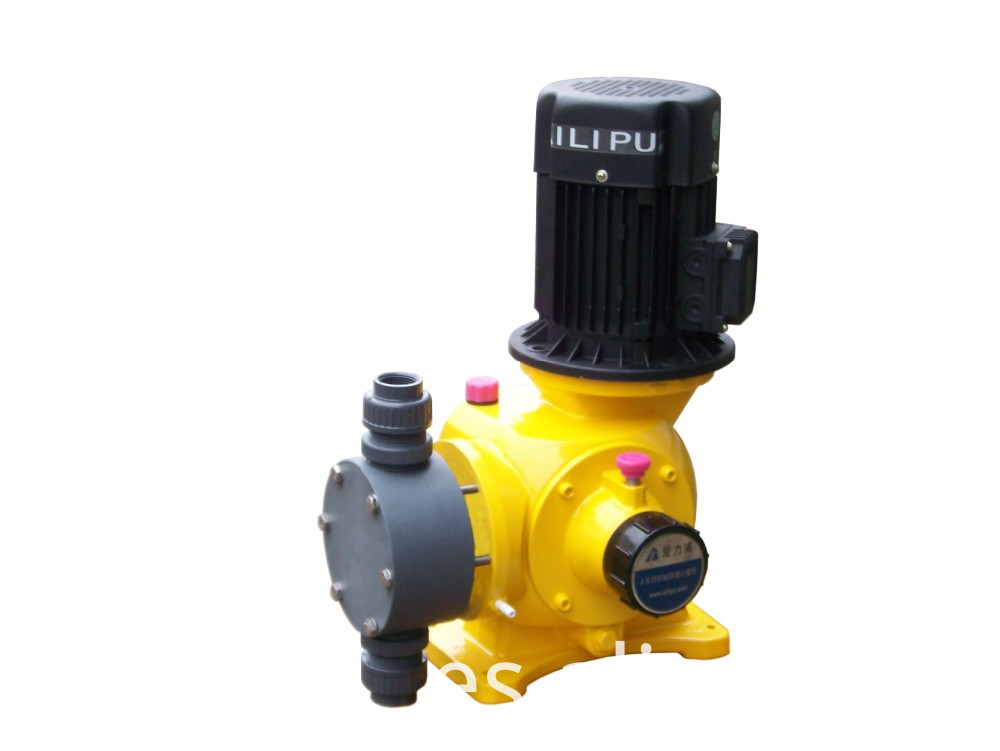 Water Treatment Program Pump