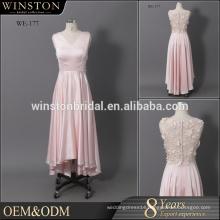2016 Fashion High Quality V-Neckline bridal evening dresss