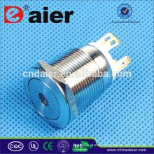 Daier LAS1GQ-19F-11D Interruptor de Botão Iluminado