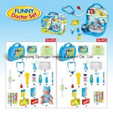 Boutique Playhouse brinquedo de plástico para Funny Doctor Set