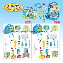 Boutique Spielhaus Plastik Spielzeug für Funny Doctor Set