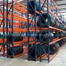 Einstellbare Stahl Reifen Rack Vertical Reifen Lagerung Rack