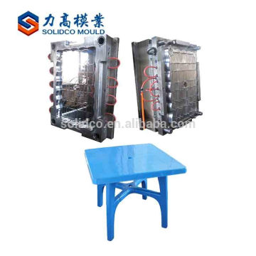 Kundenspezifische Fabrik heißer Verkauf Kunststoff Tisch Stuhl Schimmel