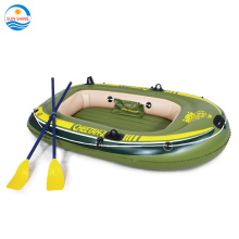 PVC 2 persons fishing inflatable rowing boat