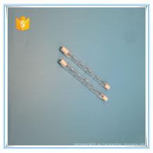 R7S j78 j118 j189 j254 j333 halógeno cuarzo tubo de la lámpara de calentamiento infrarrojo