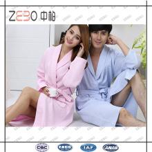 Soem-Fabrik Direktverkauf freie Größen-Baumwollbad-Robe für Männer und Frauen