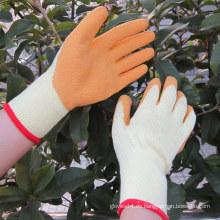 Latexbeschichtete Handschuhe Sicherheitshandschutz Arbeitshandschuh