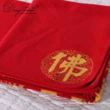 Новый стиль 100 % кашемир супер мягкий Качество фильм 2ply роскошный свадебный подарок одеяло из Китая
