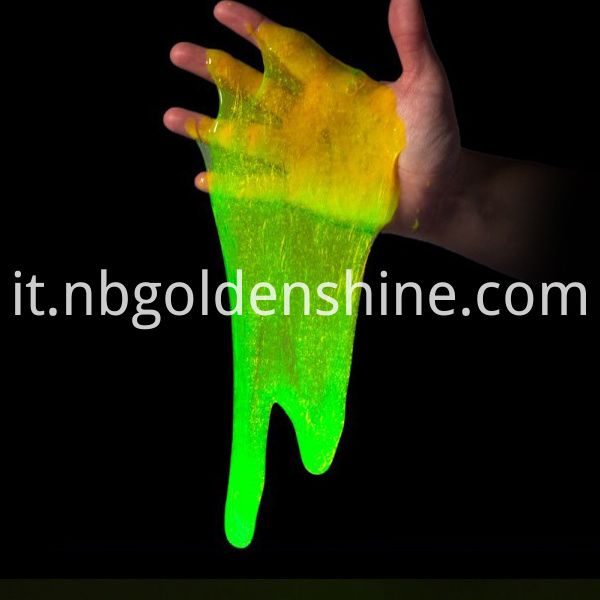 Mke Your Own Glow In The Dark Slime