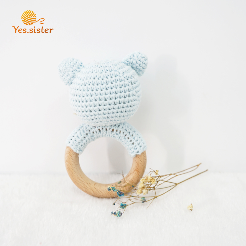 Wooden Teether Animal