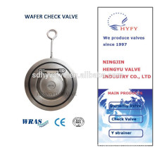 Wafer Check valve ,stainless steel wafer type single disc swing check valve