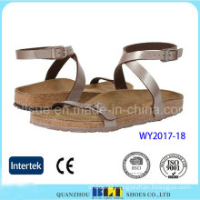 Fashion Strap Design Women Slipper
