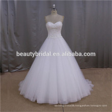 Ivory Court Train royal blue and white wedding dress for sale