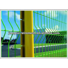 polyester powder coated welded wire mesh fence
