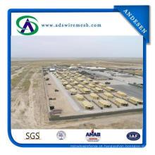Preços da caixa de Gabion da barreira de Hesco / caixas soldadas militares de Gabion da barreira de Hesco