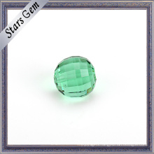 10mm Big Size Emerald Color Crystal Beads