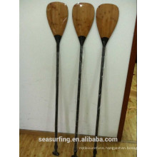 Bamboo Blade Carbon stand up Paddle OEM type Made in China