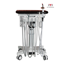 Hot Selling Mobile Portable Delivery Cart Dental With  Air Compressor vet Clinic