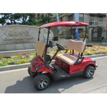 zwei Personen kleiner Gas Power Golfwagen