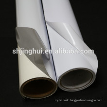PVC Material Glossy PVC self adhesive vinyl