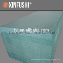 China Moistureproof green MDF panel