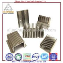 Profil de dissipateur de chaleur en aluminium de haute qualité