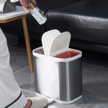 Creative Sorting Stainless steel Trash Can