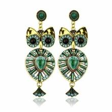 Trendy Bohemia Style Resin Stone Earring (XER13082)