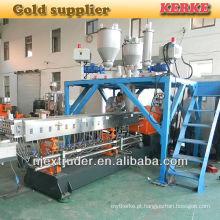 Extrusora de Co máquinas de processamento de plástico para CaCO3 / tal mestre masterbiller
