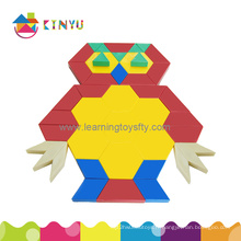 Vente en gros 2015 New Popular Plastic Children Block Triange Puzzle Toy
