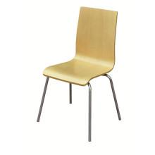 Populärer stapelnder Bentwood Stuhl für Kfc