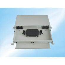 12 Fibers Slidable Rack-Mount Fiber Optic Distribution Frame
