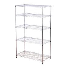 Double-Side Feature Adjustable Steel Display Exhibition Shelf Rack