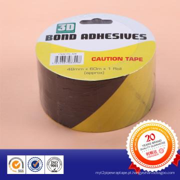 Fita de advertência subterrânea material de alta qualidade do PVC do fabricante com cartão
