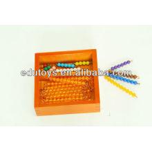 Montessori - Barres à perles pour Teen Board avec boîte