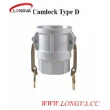 D Тип Нержавеющая сталь Быстроразъемное соединение Camlock