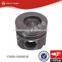 Piston de moteur marin original YC4F F3000-1004001B pour le yuchai