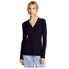 PK18A86HX Women 100% cashmere Cardigan Sweater
