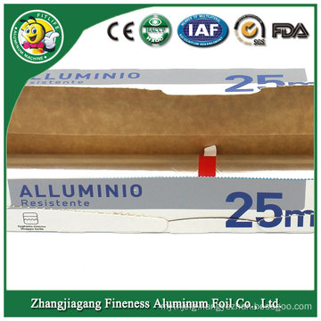 Aluminum Foil Roll (edge banding, food packaging, containers, cooking, freezing, wrapping, storing)