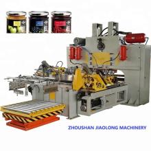 máquina de tampa de metal com tampa giratória