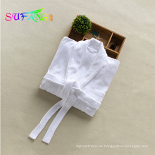 Ropa de hotel / Superior Unisex 100% Premium largo - Terciopelo peinado de algodón pequeño