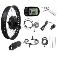 Kits de ruedas de motor eléctrico Fat Bike 72V 3000W