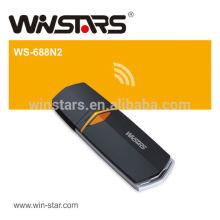 Adaptateur sans fil USB 2.0 de 300Mbps, carte sans fil 802.11n LAN, CE, FCC