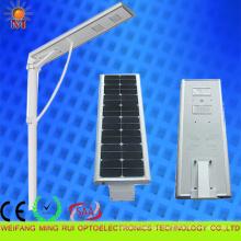 A eficiência elevada 5 anos de garantia integrou a luz de rua solar 40W do diodo emissor de luz