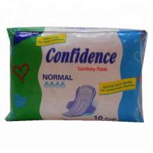 Fabricación de toallas sanitarias / almohadillas sanitarias para mujeres de marca OEM en China.