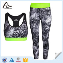 Frauen-kundenspezifische Fitness-Kleidung-Trainings-laufende Abnutzung
